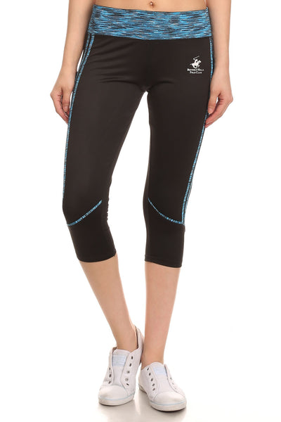 Beverly Hills Polo Club Women's Workout Capri Leggings BHP-220