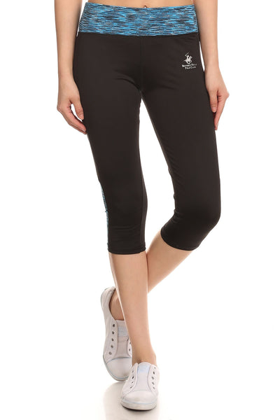 Beverly Hills Polo Club Women's Workout Capri Leggings BHP-235