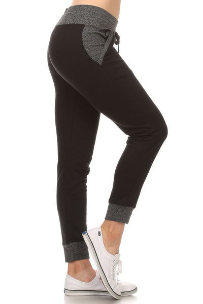 Beverly Hills Polo Club Women's Comfy Slim Sweatpant BHP-626