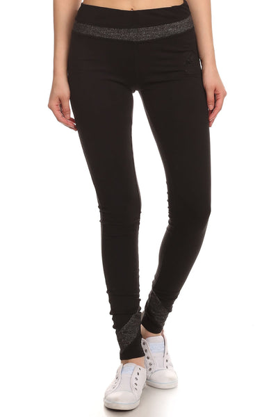 Beverly Hills Polo Club Women's Slim Leg Athletic Pant BHP-809