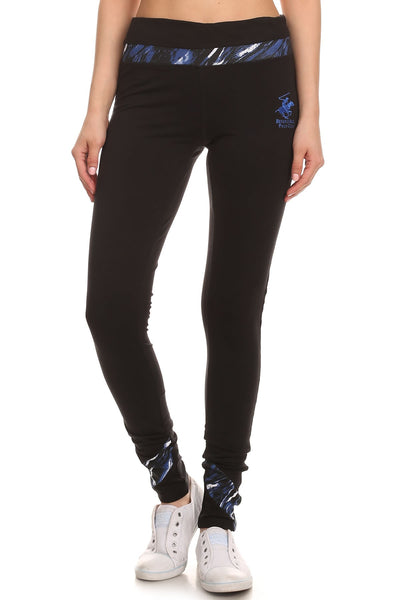 Beverly Hills Polo Club Women's Slim Leg Athletic Pant BHP-813