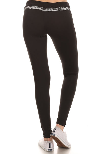 Beverly Hills Polo Club Women's Slim Leg Athletic Pant BHP-814