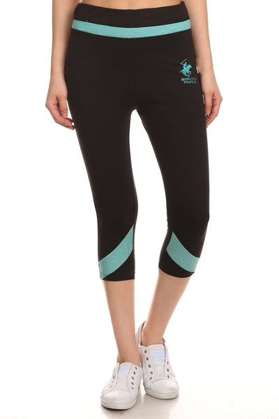 Beverly Hills Polo Club Women's Workout Capri BHP-821R