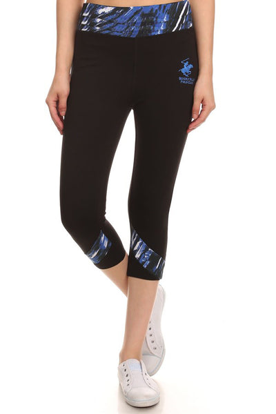 Beverly Hills Polo Club Women's Workout Capri BHP-824