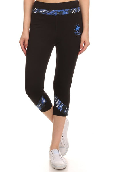 Beverly Hills Polo Club Women's Workout Capri BHP-824R