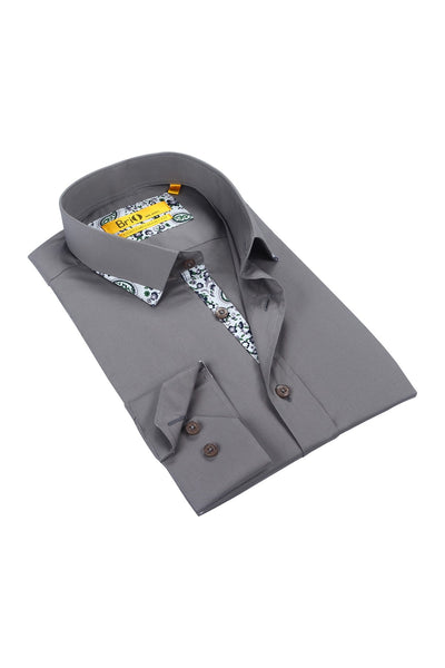 Brio Men's Dress Shirt Style - SBR109