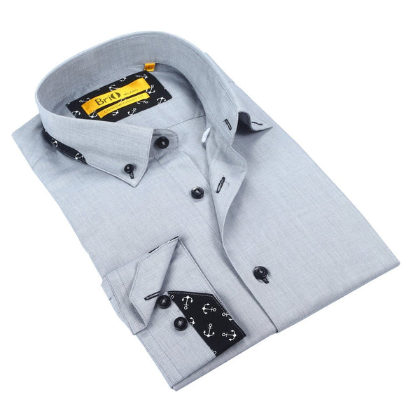 Brio Men's Dress Shirt Style - SBR-118