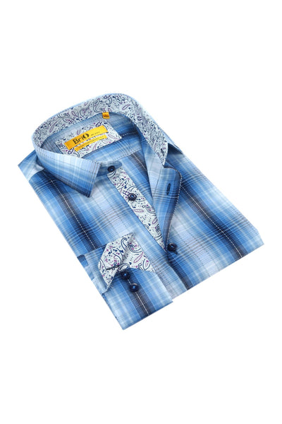 Brio Men's Dress Shirt Style - SBR-122