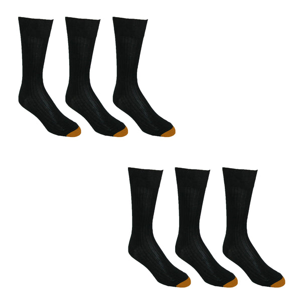 Mens Premium Dress Socks (6 Pair)
