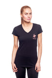 Beverly Hills Polo Club Women's Athletic V-neck T-shirt BHP-802