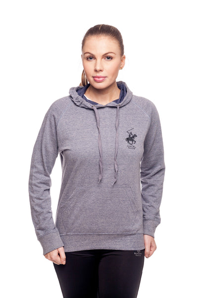 Beverly Hills Polo Club Women's Athletic Pullover Sweatshirt BHP-606M