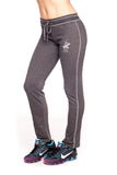 Beverly Hills Polo Club Women's Ecosmart Open Bottom Comfy Sweatpant BHP-605M