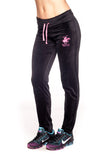 Beverly Hills Polo Club Women's Velour Sweatpants with Back Pocket BHP-221
