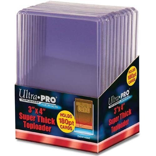 "Ultra Pro Toploader 3 x 4"" (Thick Patches) - 180pt - EuroBoxBreaks"