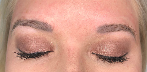 Ashy Brow Color Correction Case Study Before Image