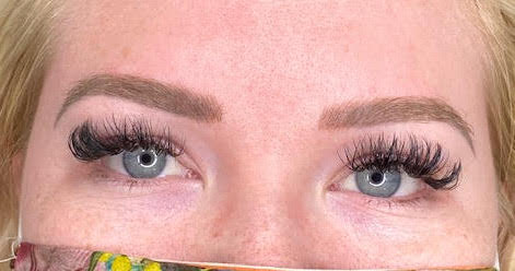 Ashy Brow Colour Correction Case Study Healed Brows