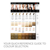 I ❤️ INK Eyebrow Pigment Colour Chart