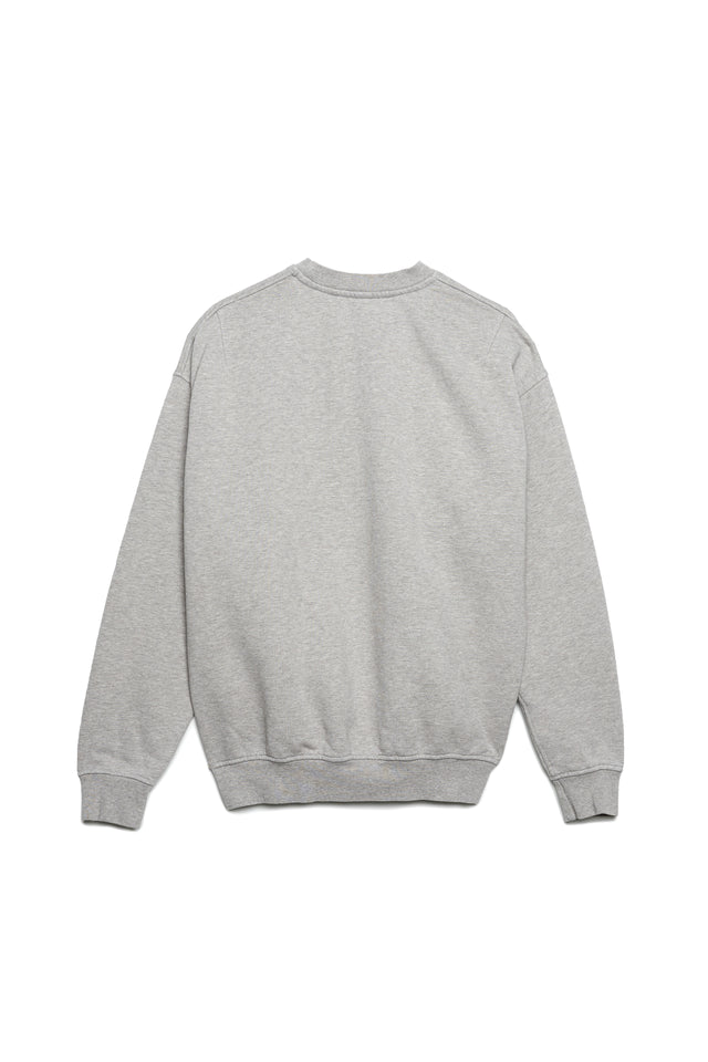 P402 RELAXED OVERSIZED CREW - After the Fire Grey