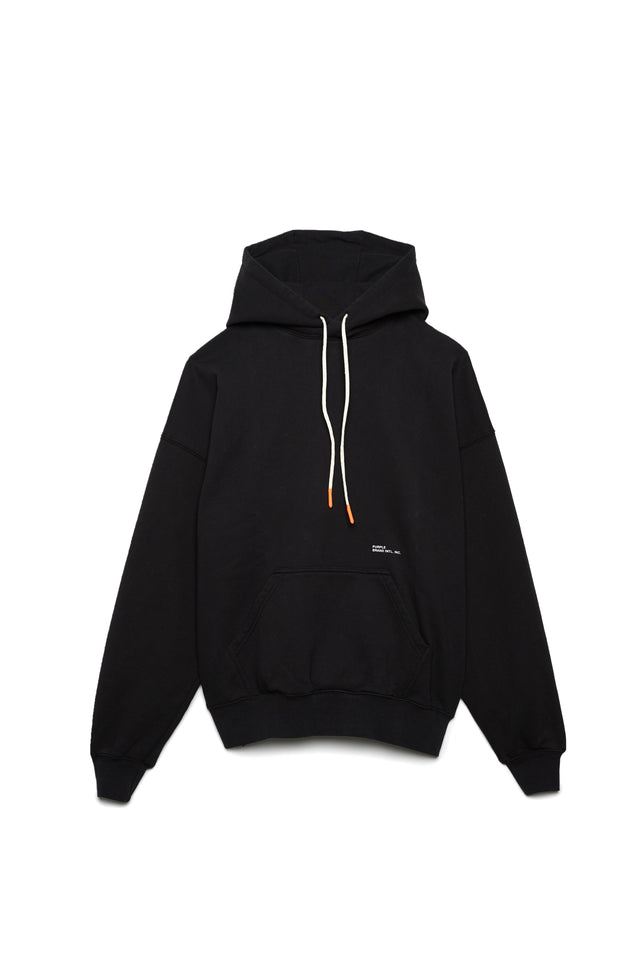 P401 RELAXED OVERSIZED HOODIE - Collegiate