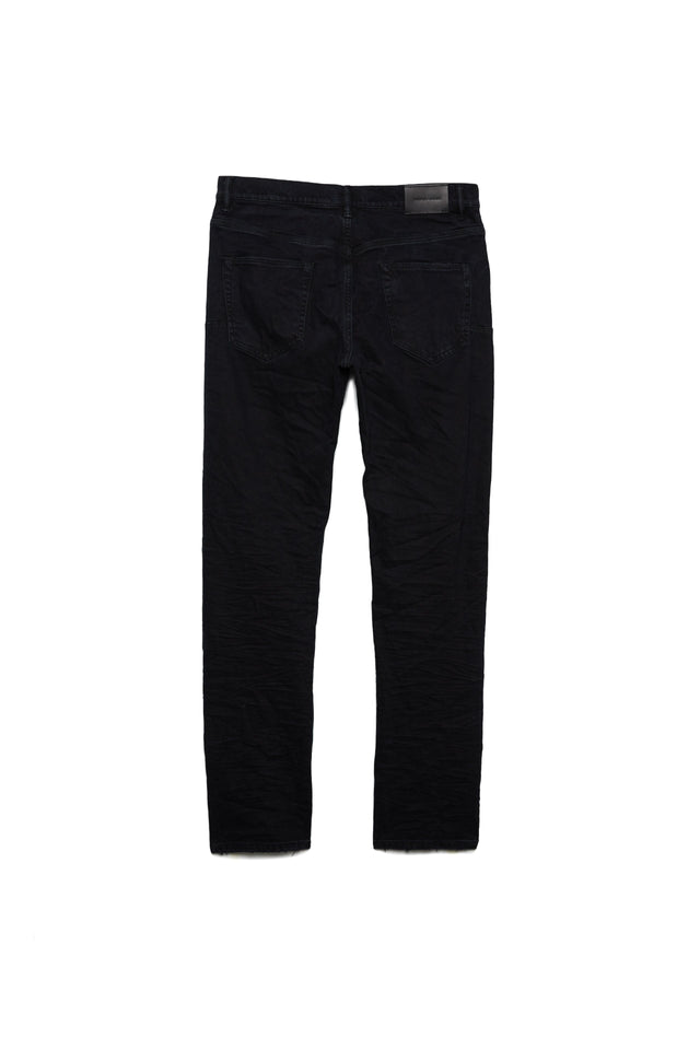 P011 MID RISE WITH STRAIGHT LEG - Black Washed Double Carpenter