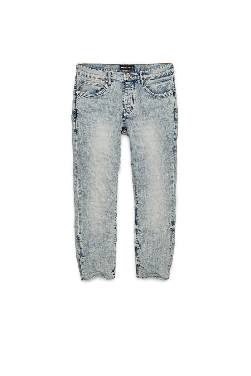 P001 LOW RISE WITH SLIM LEG - Light Indigo Sand Wash