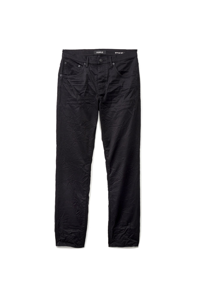 P005 MID RISE WITH STRAIGHT LEG - Black Twill