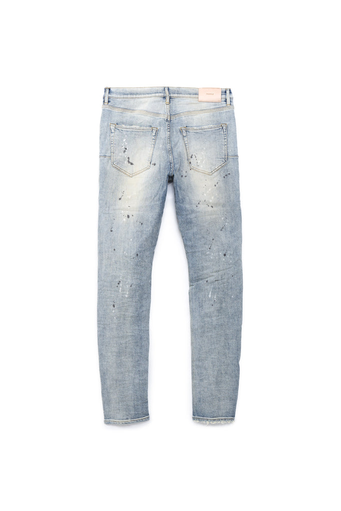 P001 LOW RISE WITH SLIM LEG - Mid Indigo Paint