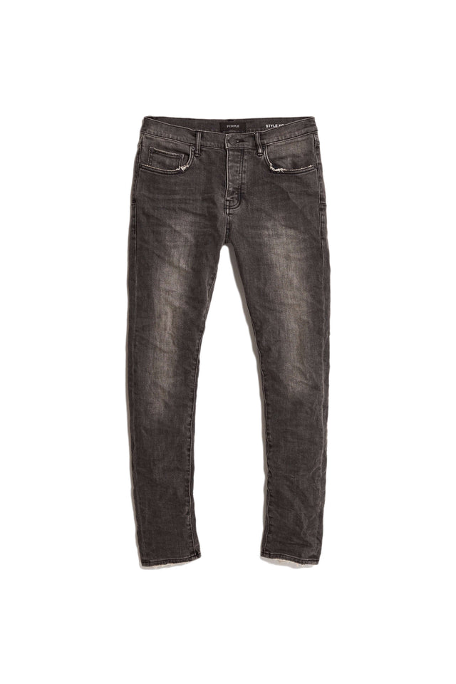 P001 LOW RISE WITH SLIM LEG - Grey Wash