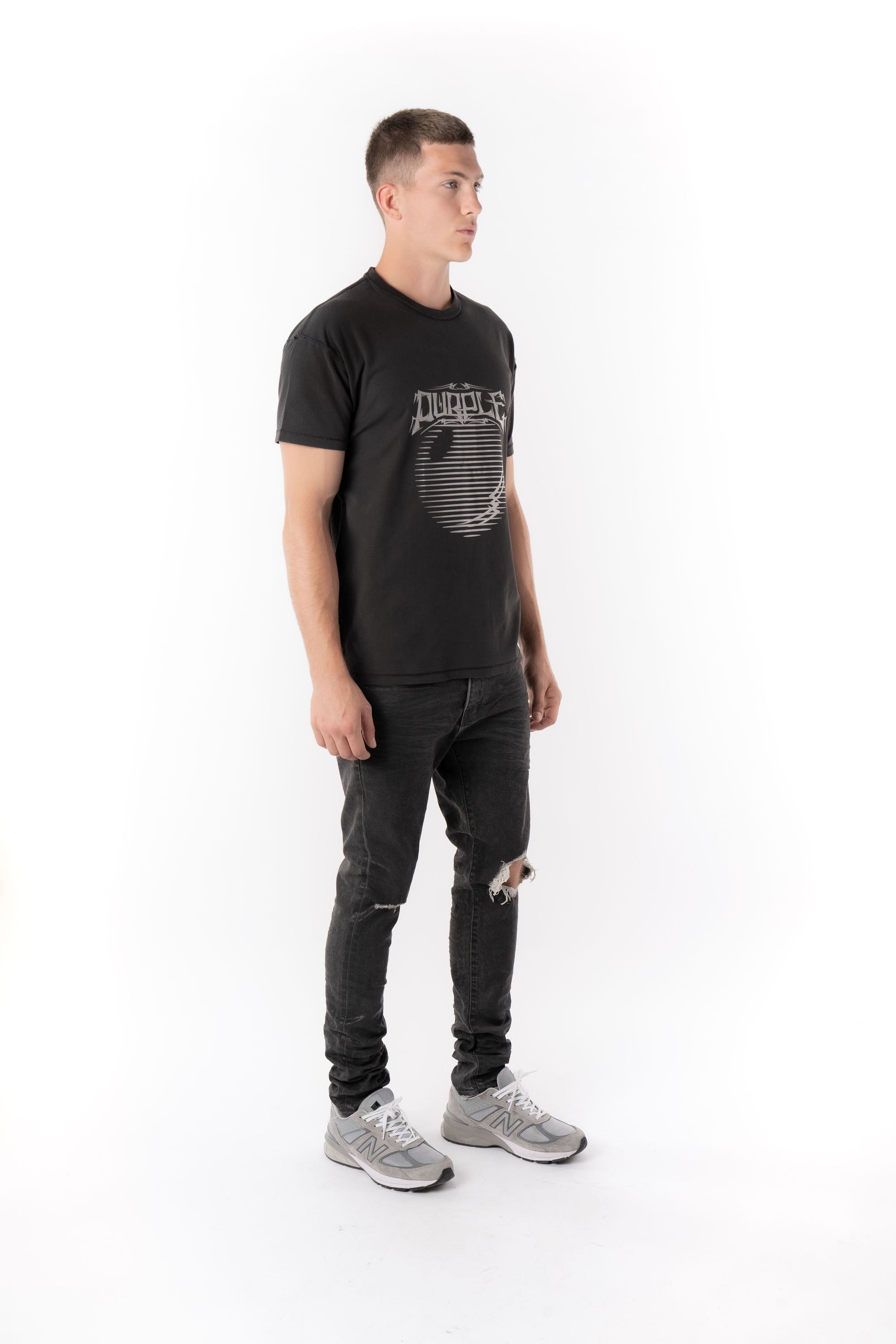 P101 RELAXED FIT - Asterism Black