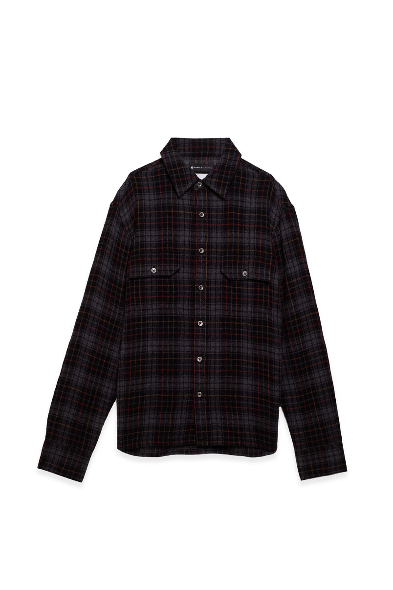 P309 - Grey Gauze Plaid
