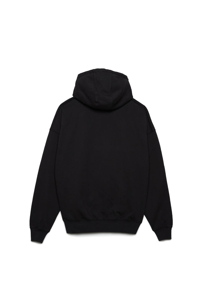 P401 RELAXED OVERSIZED HOODIE - Lion Purple