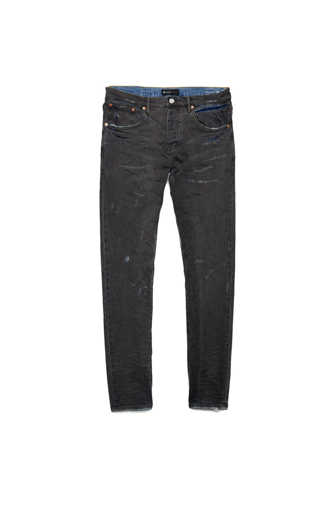 P002 MID RISE WITH TAPERED LEG - Grey Over Spray Repair