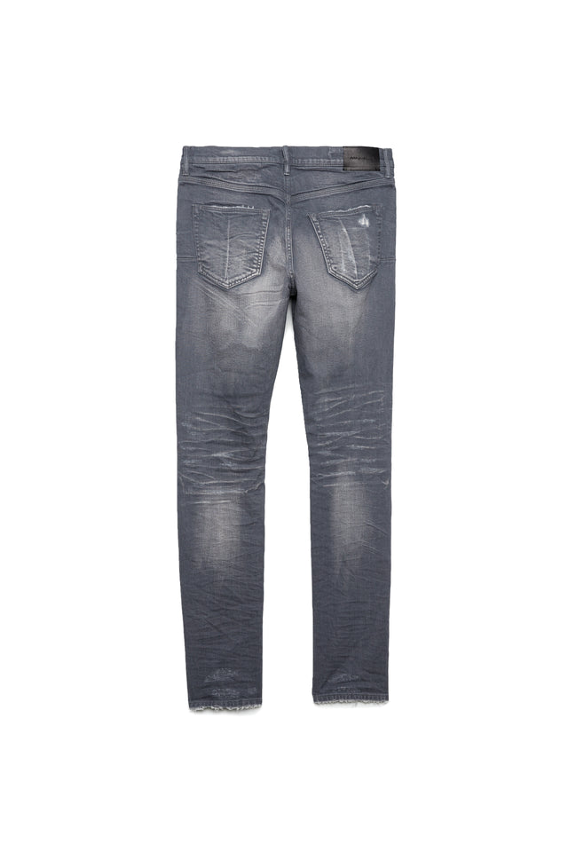 P001 LOW RISE WITH SLIM LEG - Grey Two Year Vintage