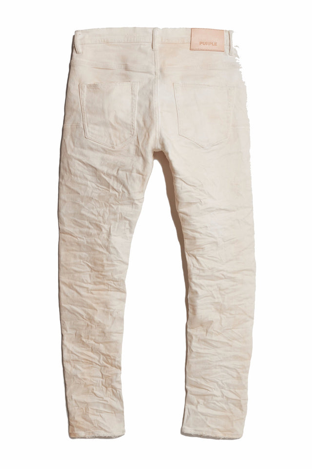 P002 MID RISE WITH TAPERED LEG - White Repair