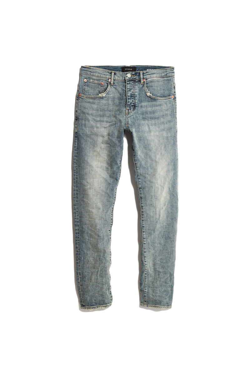 P005 MID RISE WITH STRAIGHT LEG - Light Indigo