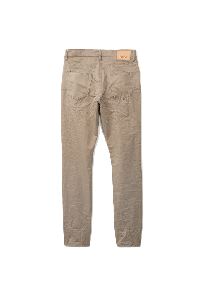 P001 LOW RISE WITH SLIM LEG - Khaki Twill