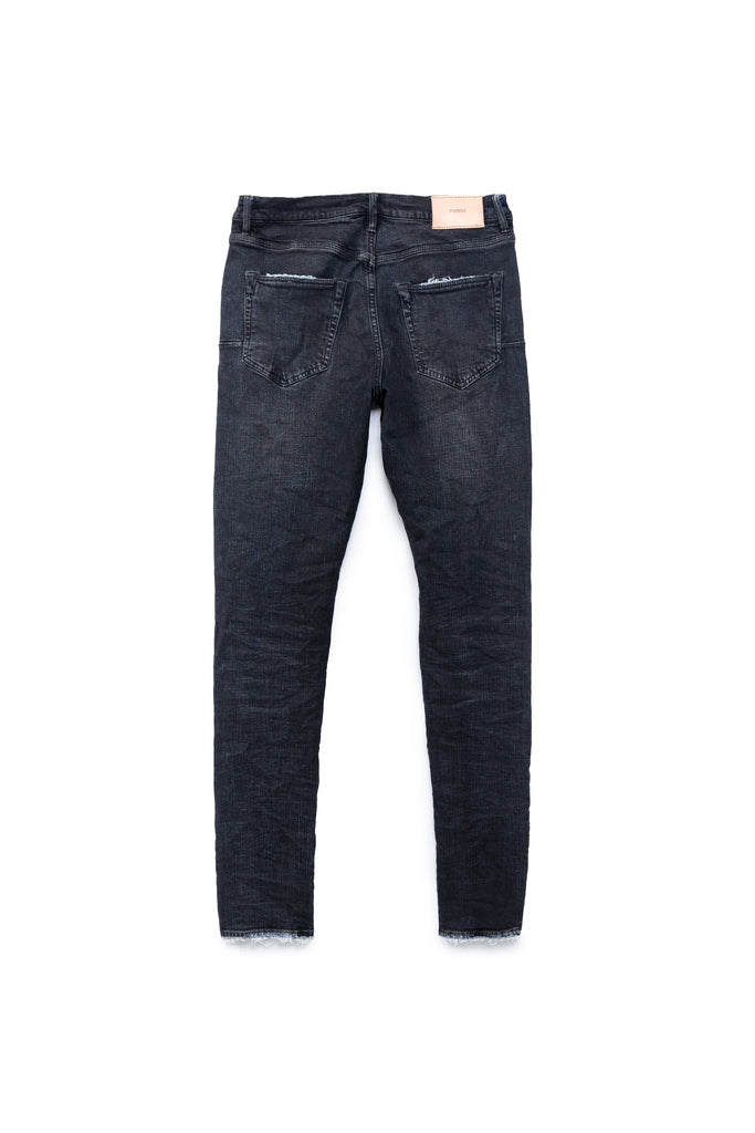 P001 LOW RISE WITH SLIM LEG - Mid Indigo Resin