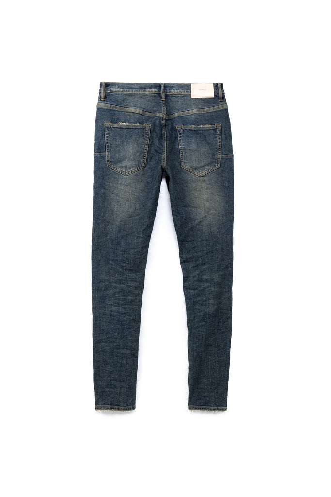 P002 MID RISE WITH TAPERED LEG - Two Year Dirty