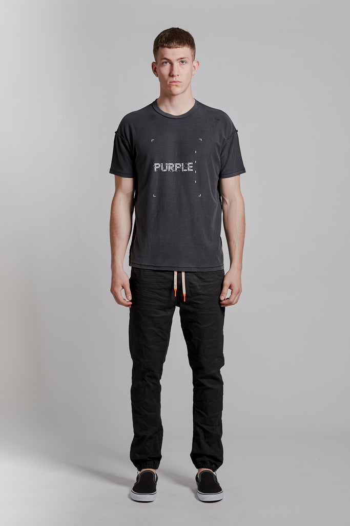 P101 RELAXED FIT - Square Black