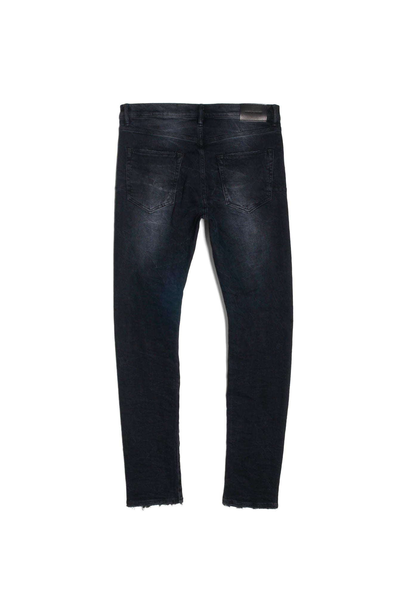 P001 LOW RISE WITH SLIM LEG - Black Wash