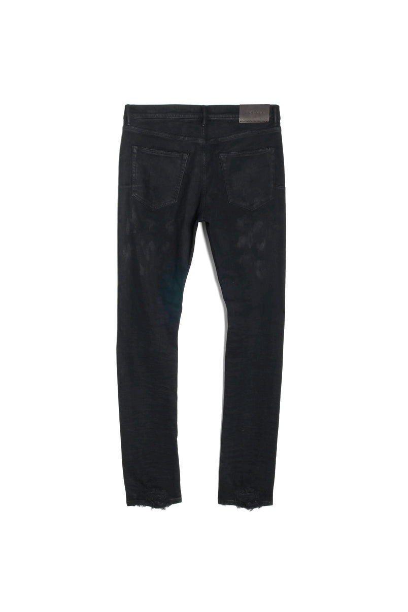 P001 LOW RISE WITH SLIM LEG - Black Oil Spill