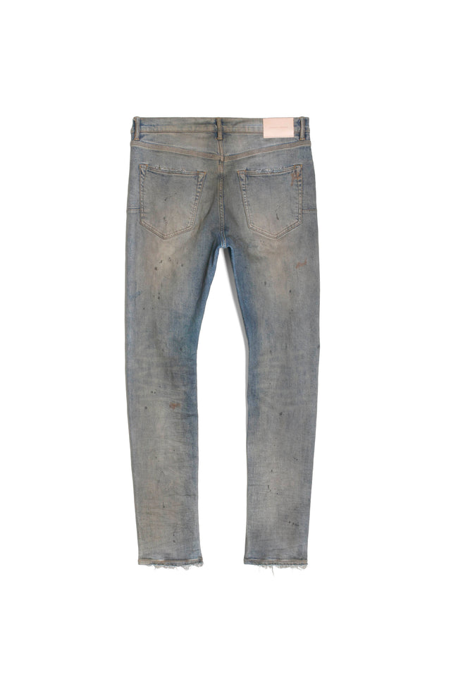 P001 LOW RISE WITH SLIM LEG - Indigo Oil Repair