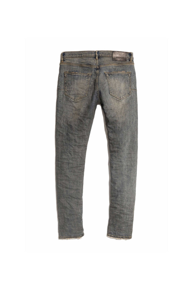 P001 LOW RISE WITH SLIM LEG - Grey Over Spray