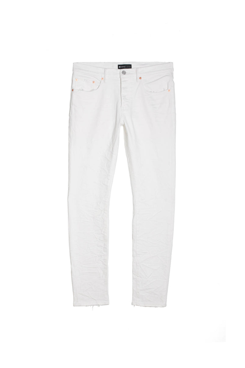 P001 LOW RISE WITH SLIM LEG - White Wash