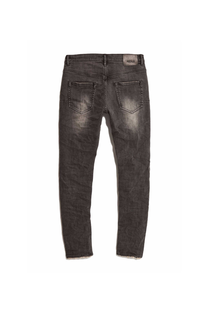 P002 MID RISE WITH TAPERED LEG - Grey Repair