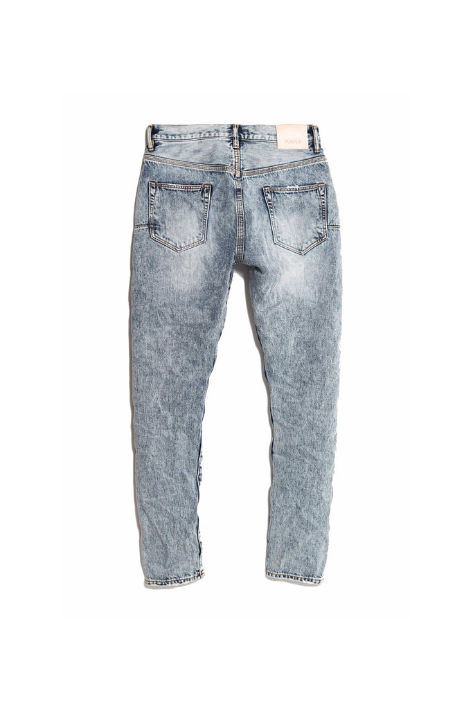 P003 LONG RISE WITH TAPERED LEG - Stone Wash