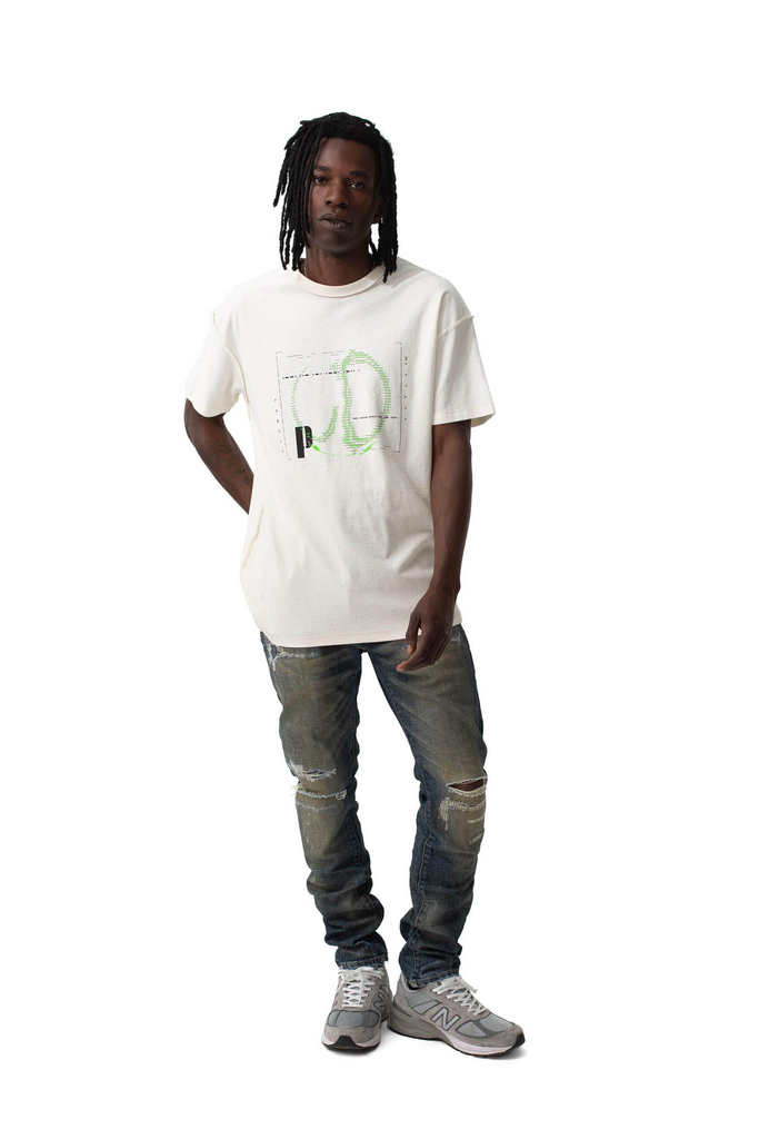 P101 RELAXED FIT - Signal White