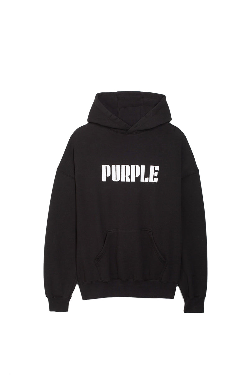 P401 RELAXED FIT - Oversized Purple Logo