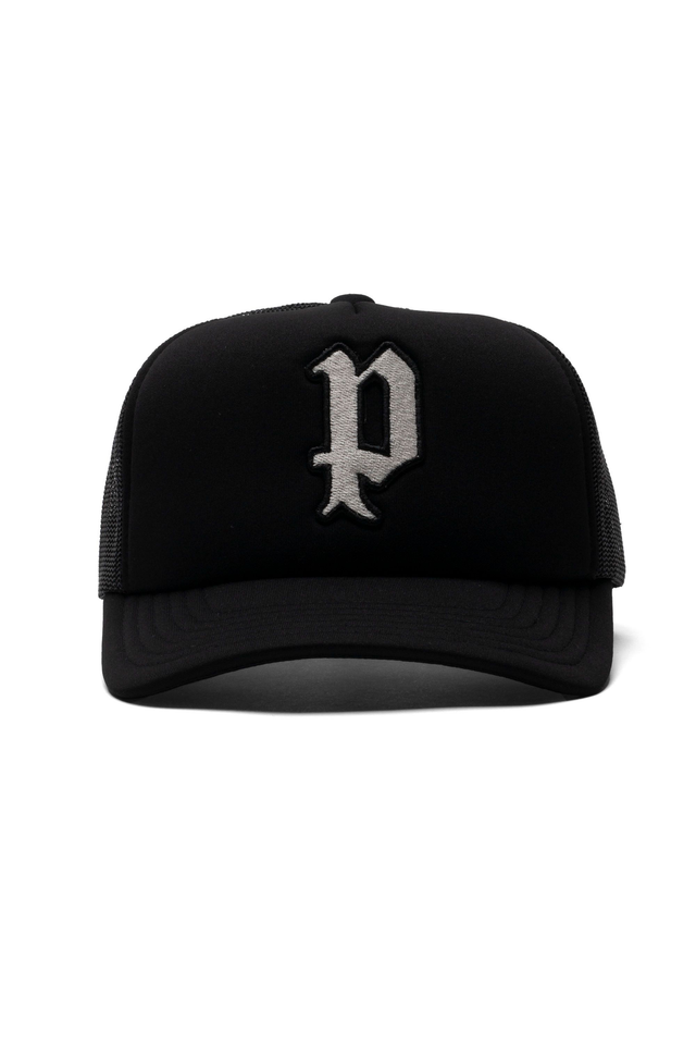 P902 - Foam Trucker Patch White Black