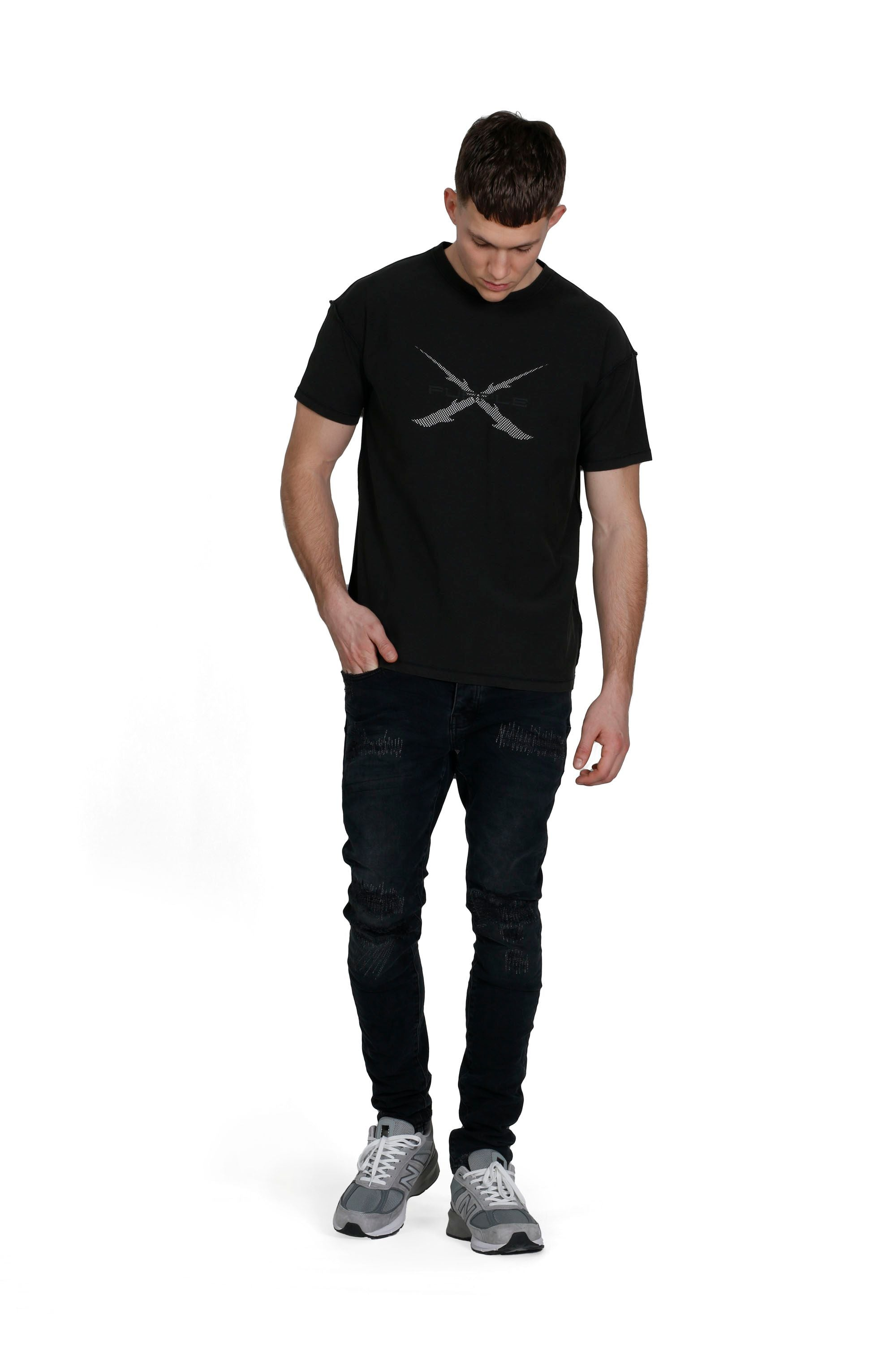P101 RELAXED FIT - ANTLER BLACK